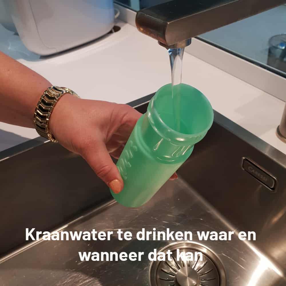 Wegwerpwaterflessen? Niet voor Plan Effect!