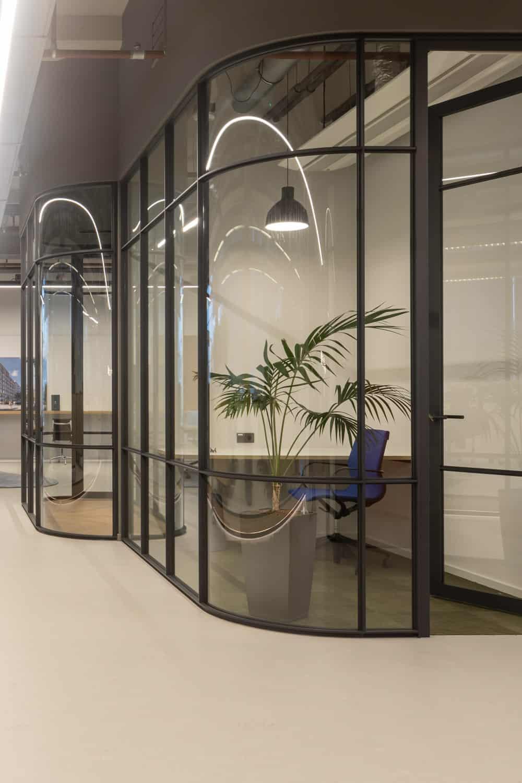 Wilt u een unieke uitstraling op kantoor? Dan kiest u voor ronde wanden!