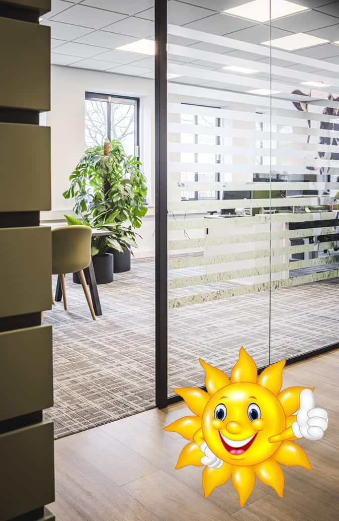 In het zonnetje: PE-25 Glass-Concept!