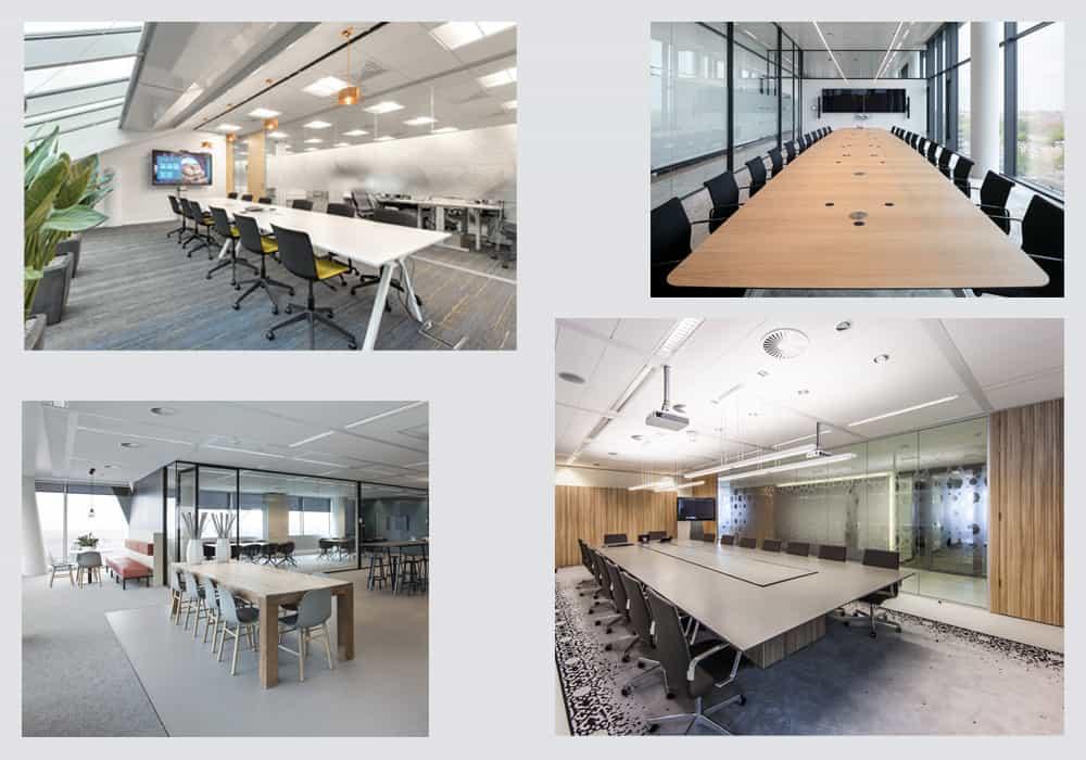 De mooiste vergader en overlegruimtes creëert u met glaswanden! | Plan Effect